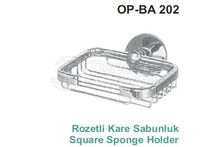Square Soap Holder OP-BA 202
