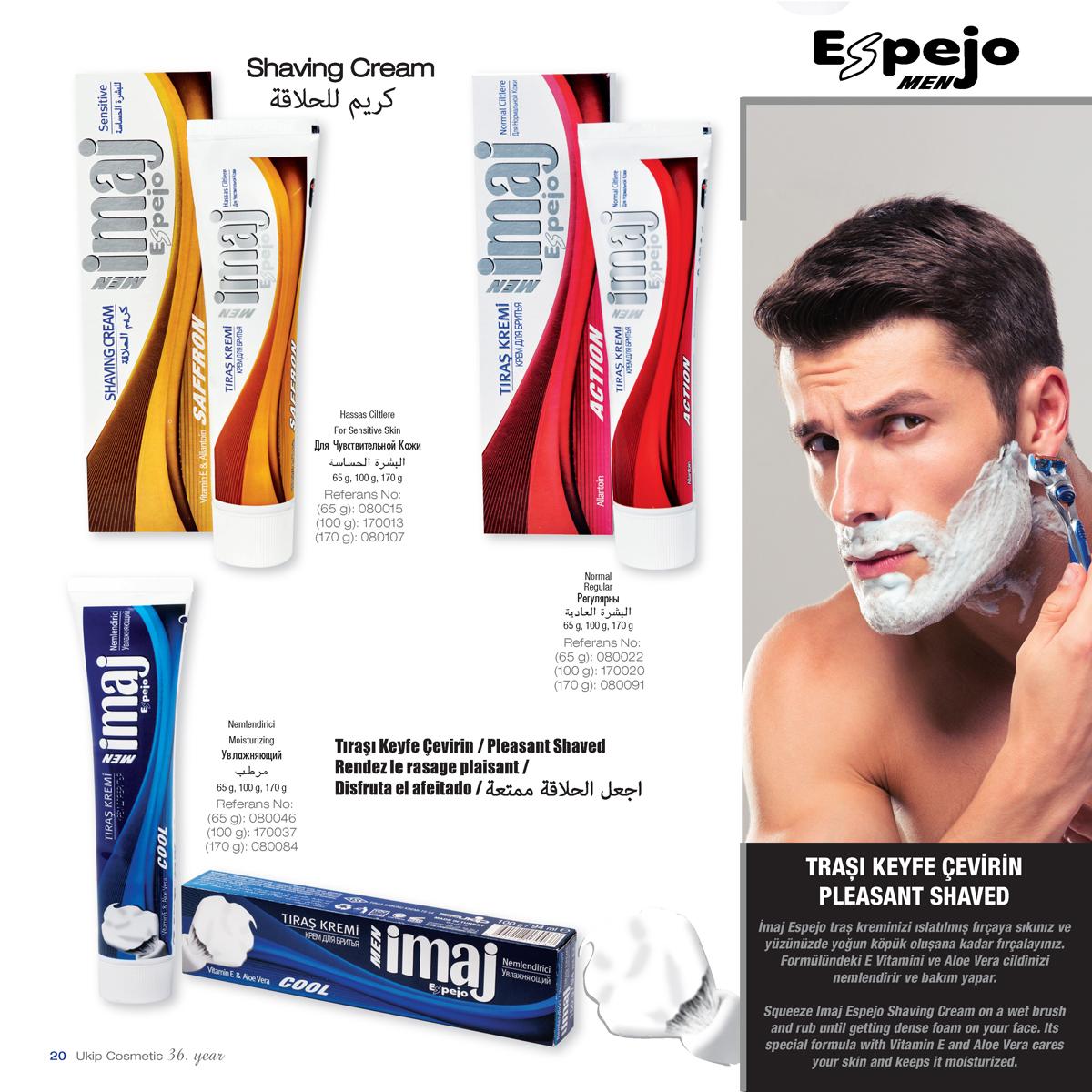 Espejo Shaving cream