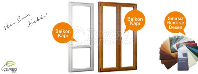 Balcony PVC Doors