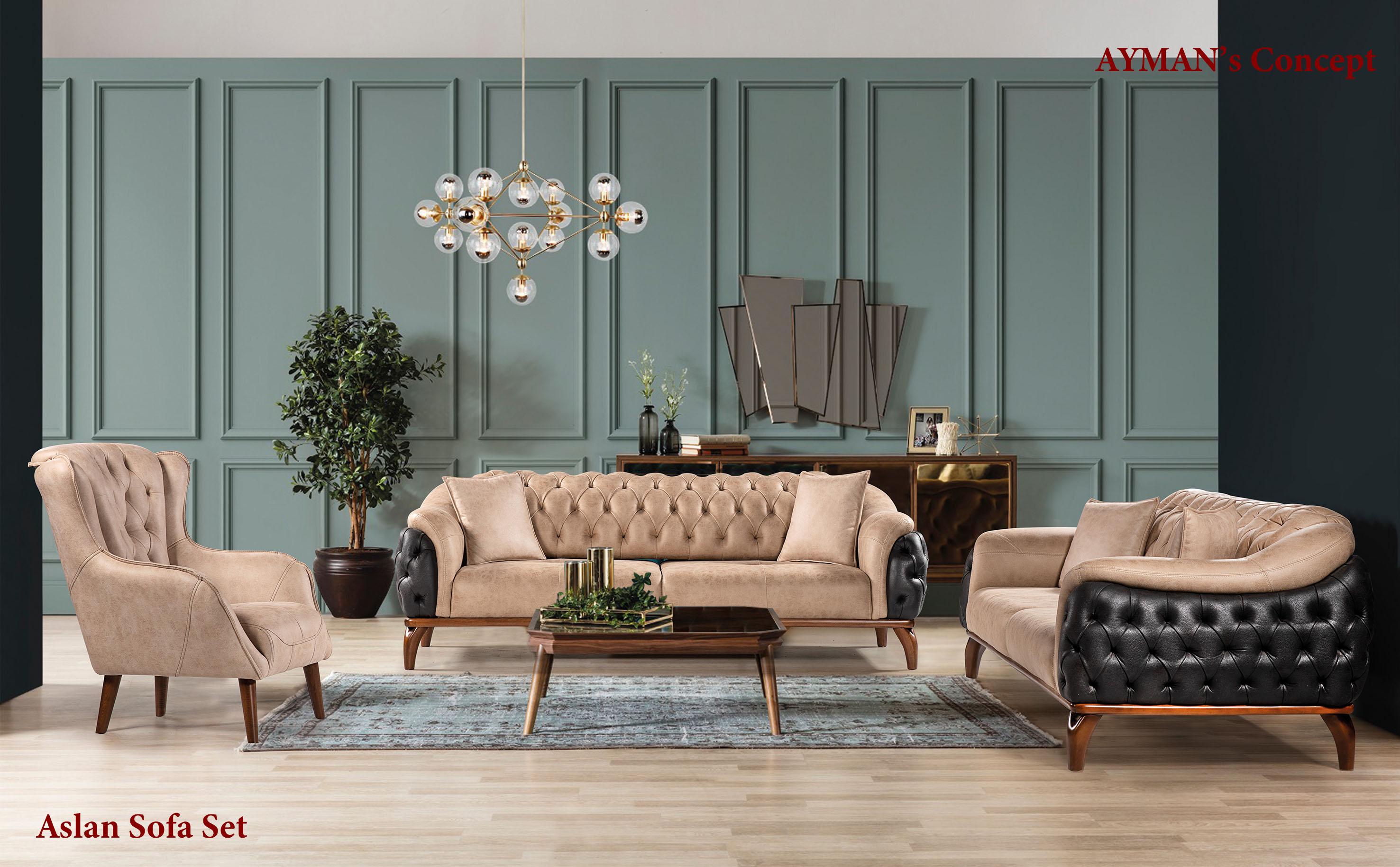 Aslan Sofa Set