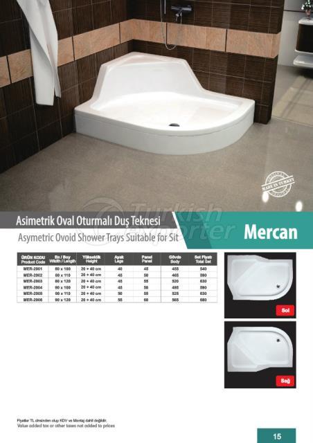 حوض حمام بيضوي Mercan