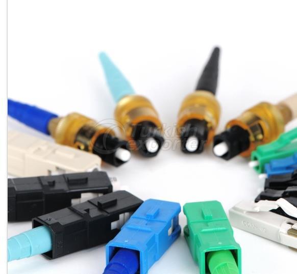 Connecteurs à fibre optique