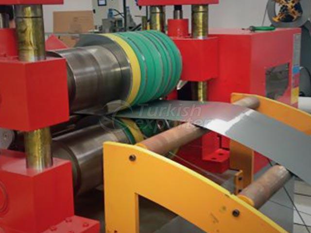 Líneas de corte longitudinal de bobinas 600mm