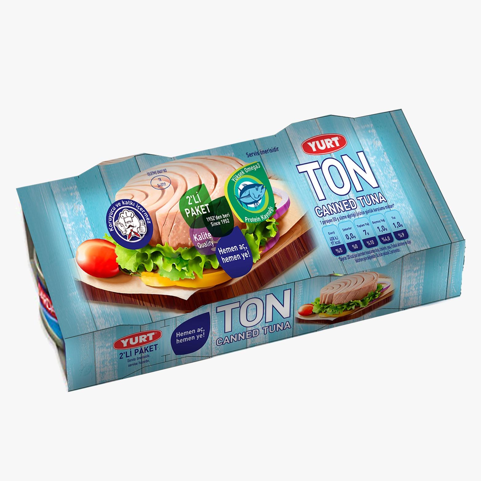 Tuna Fish In Sunflower Oil (2 in 1)
