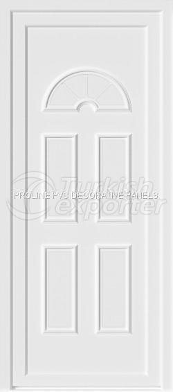 Painéis de porta de PVC termoformados 30001