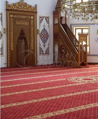 alfombra de poliamida mezquita
