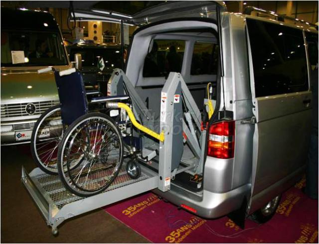 Handicapped Transport Vehicle