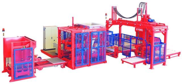 Concrete Blockmaking Machines KPM-1025