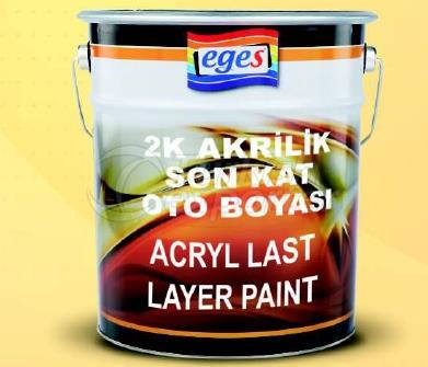 Acrylic Last Layer Paint