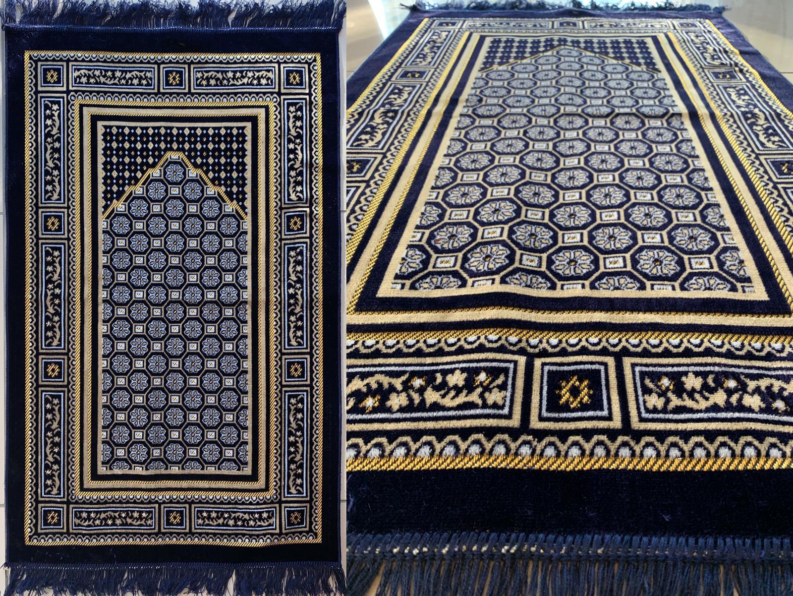 velvet prayer rug
