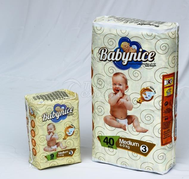 Baby Nice Baby Diaper  *Midi