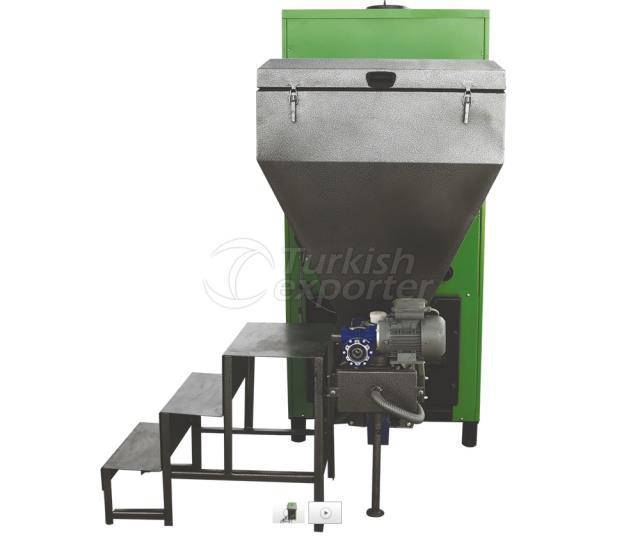 Central Piston Ash Unloader Heating Boiler