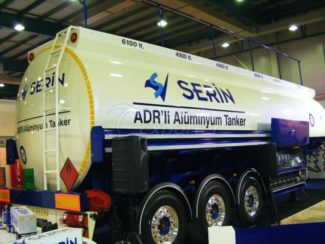 Tanque de combustível de alumínio de 36.000 lt