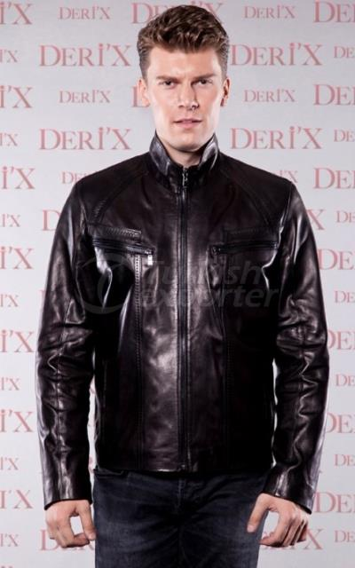 Leather Jackets 6011E Black