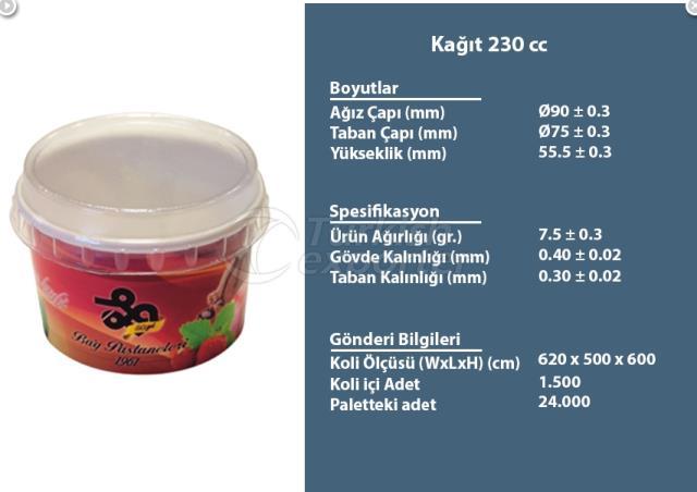 Paper Container 230 cc