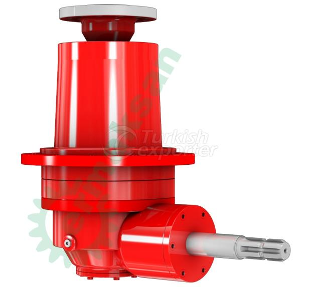 feed mixer gearbox