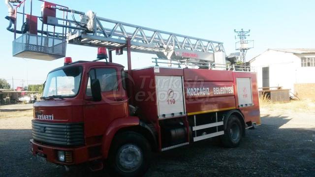 Fire Fighter truck with ladder - İtfaiye Araçları