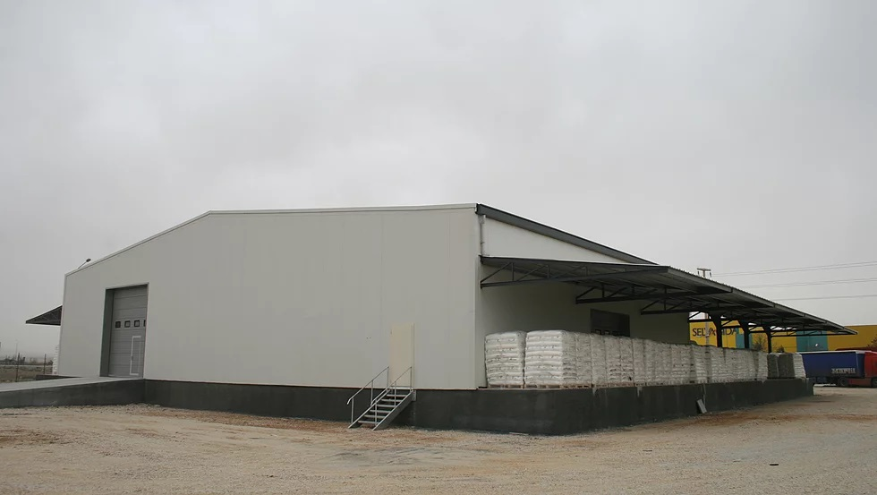 Customs clearance building