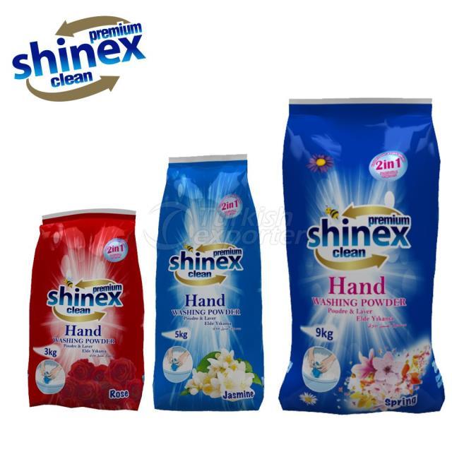 Shinex Hand Washing Powder 3-5-9 Kg