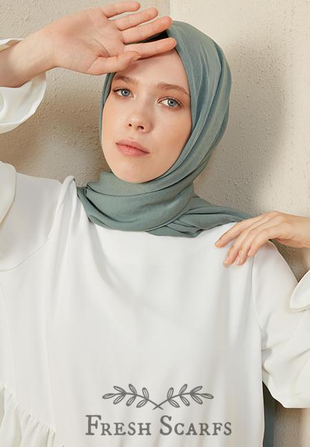 restal shawl mint