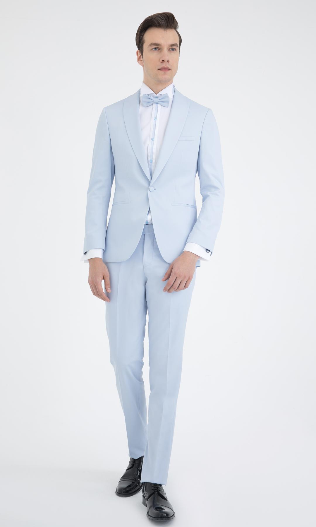 Slim Fit Groom_s Suit 33202018C105