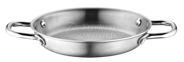 Multi Metal - Steel Omelette Pan