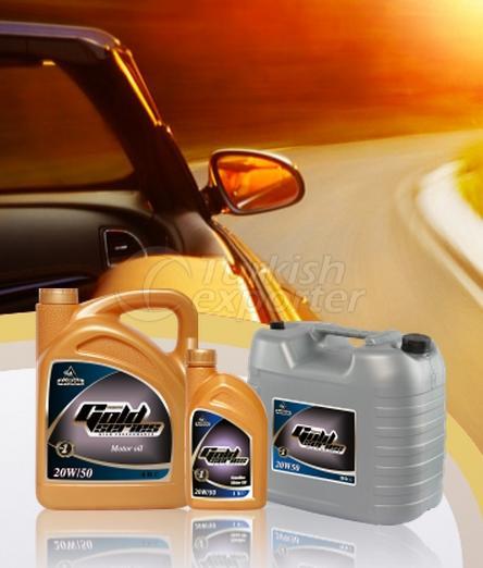 Benzinli Motor Yağları Gold