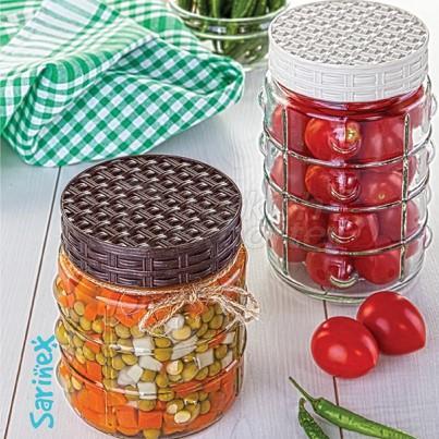 Glassware Button jar