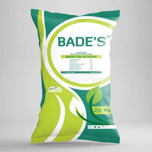 BADE'S 30-10-10-ME