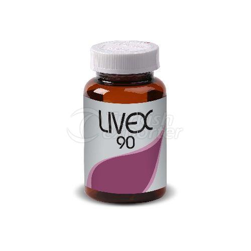 LIVEX 90 (Artichoke Extract&Musk Thistle Extracti&Dandelion Extract)