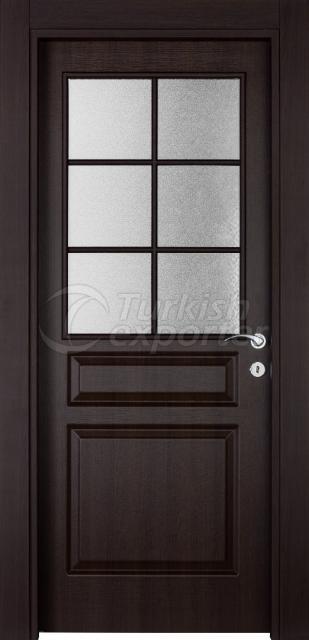 Wooden Door 305 Walnut