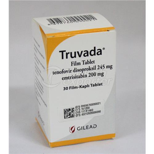 TRUVADA 30 TABLETS