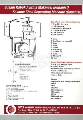 Sesame Shell Seperating Machine (Copanist)