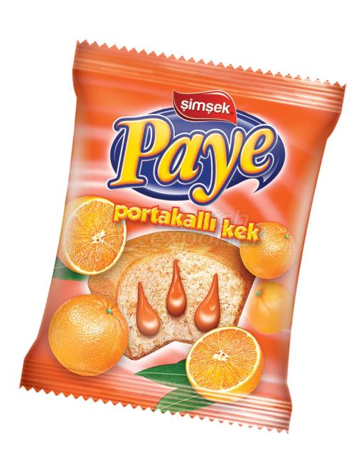 Paye Portakal Soslu Kek