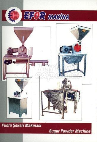 Pudra Şekeri Makinası