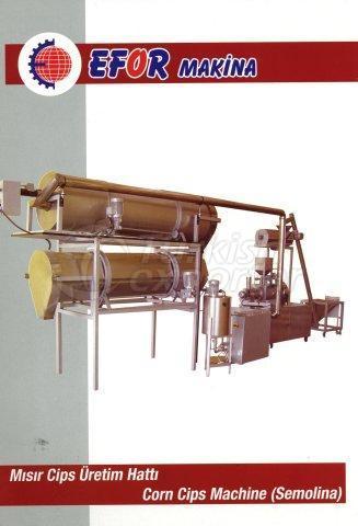Corn Cips Machine (Semolina)
