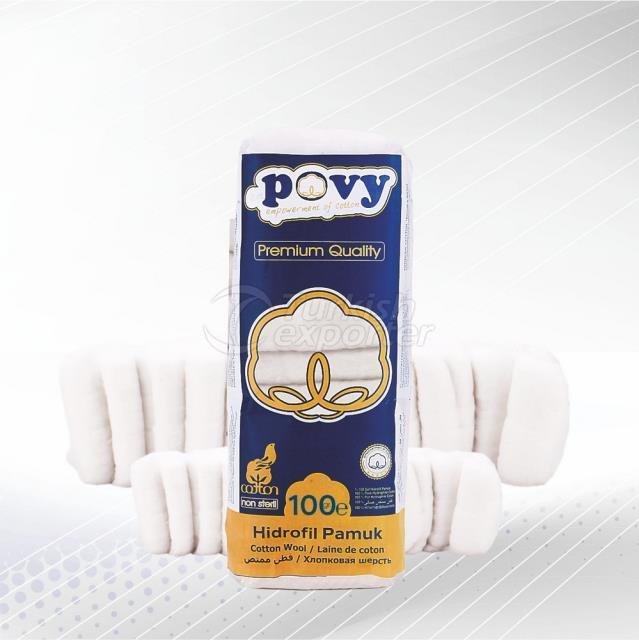 Cotton Wool 100gr