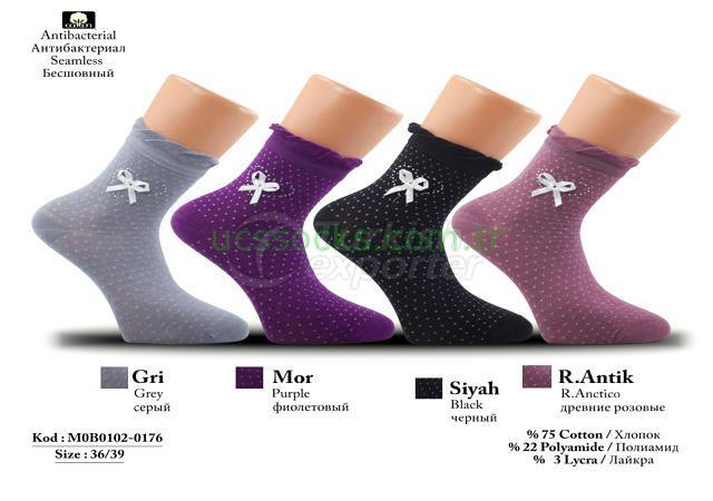 Women Socks M0B0102-0176