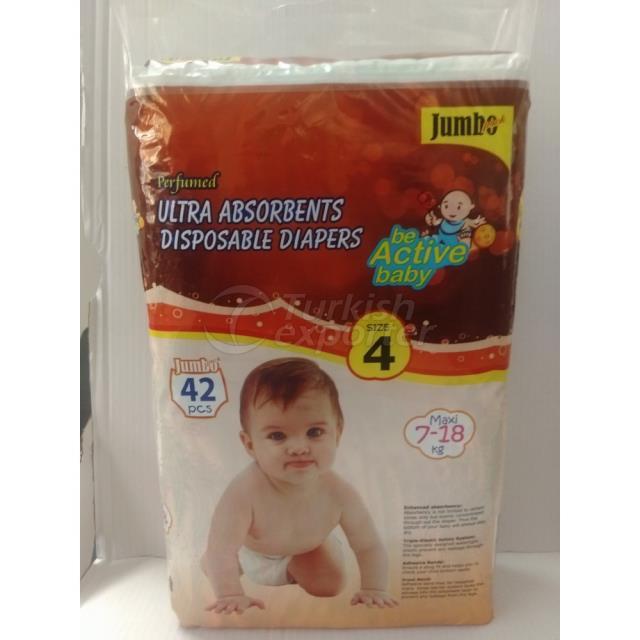 Baby Diapers Maxi 42 pcs