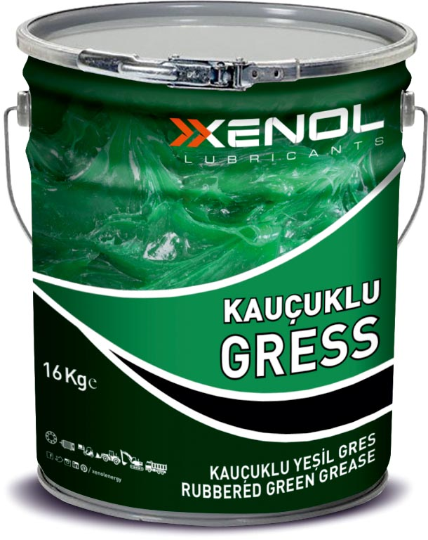 RUBBERED GREEN GREASE