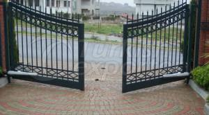 Portas de jardim circulares