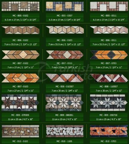 Natural Stone Series Borders
