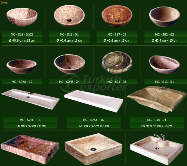 Natural Stone Series Sinks