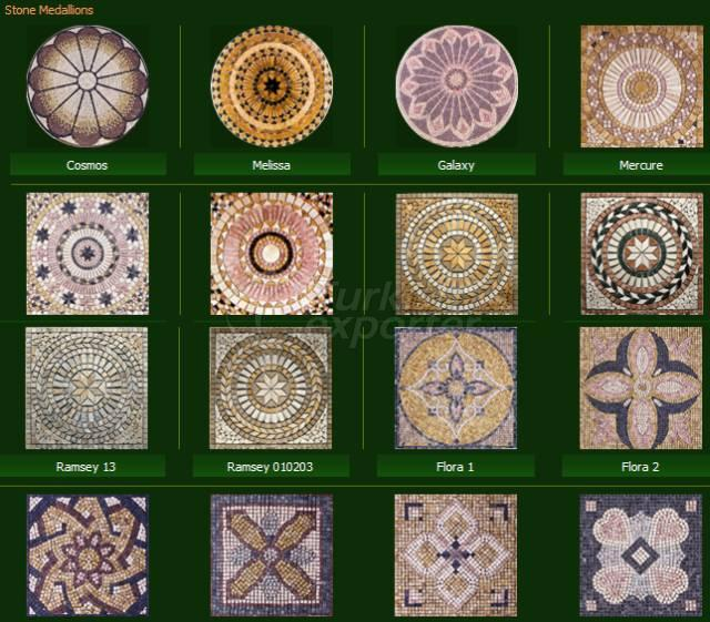 Natural Stone Series Stone Medallions