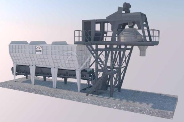 MRM 60 C Compact Concrete Plant