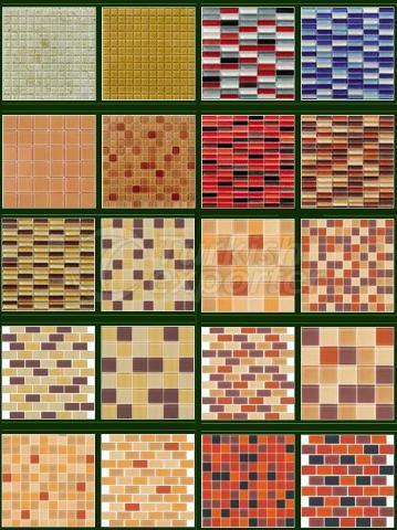 Crystal Glass Mosaic Series