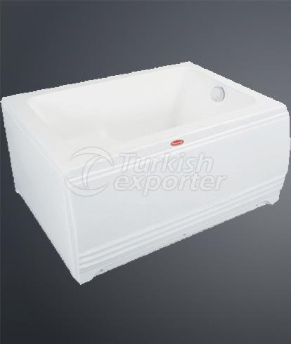 Bathtubs with Flat Panel P-6020
