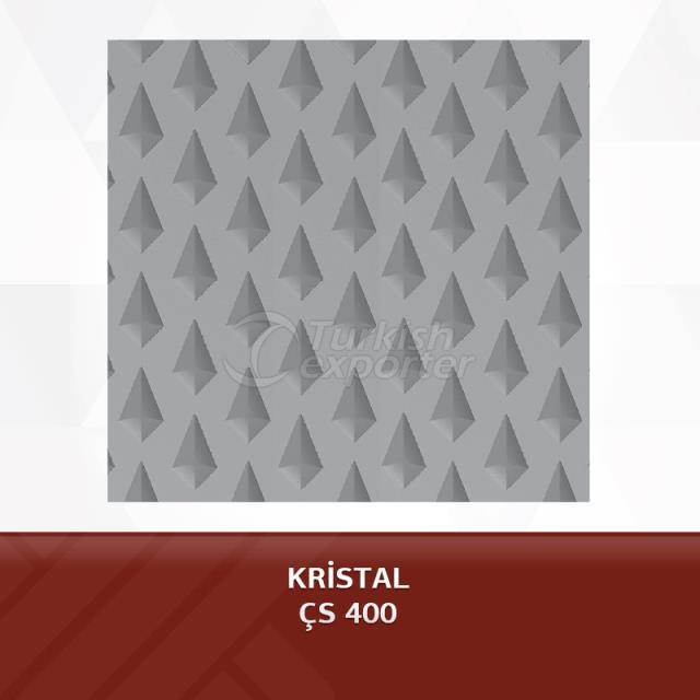 صفائح مطبوعة - طبق CRYSTAL PATTERN