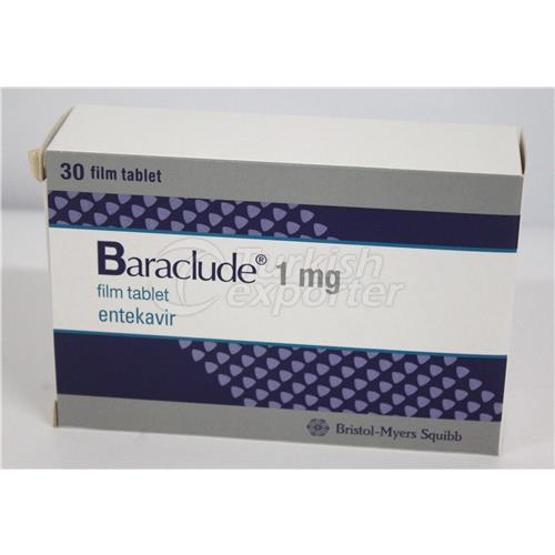 BARACLUDE 1 MG 30 TABLETS