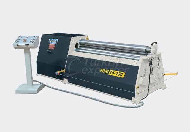 Motorised Mechanical 4 Rolls Plate Bending Machines - 4 RM